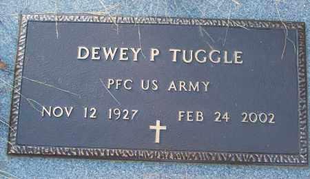 TUGGLE (VETERAN), DEWEY P - White County, Arkansas | DEWEY P TUGGLE (VETERAN) - Arkansas Gravestone Photos