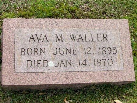 WALLER, AVA M. - White County, Arkansas | AVA M. WALLER - Arkansas Gravestone Photos
