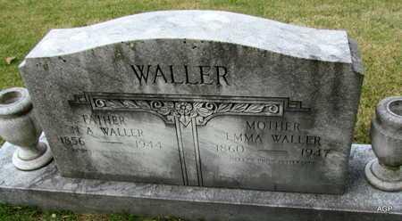 WALLER, EMMA - White County, Arkansas | EMMA WALLER - Arkansas Gravestone Photos