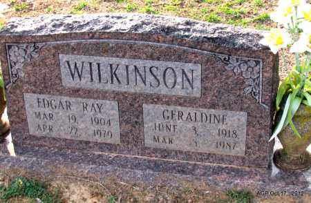 WILKINSON, EDGAR RAY - White County, Arkansas | EDGAR RAY WILKINSON - Arkansas Gravestone Photos
