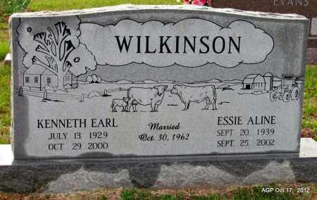 WILKINSON, ESSIE ALINE - White County, Arkansas | ESSIE ALINE WILKINSON - Arkansas Gravestone Photos