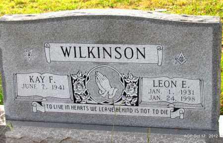 WILKINSON, LEON E - White County, Arkansas | LEON E WILKINSON - Arkansas Gravestone Photos