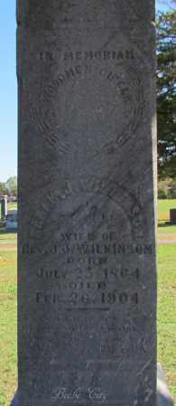 WILKINSON, SARAH J (CLOSE UP) - White County, Arkansas | SARAH J (CLOSE UP) WILKINSON - Arkansas Gravestone Photos