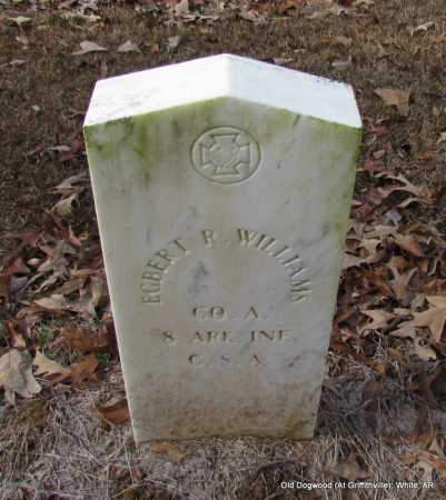 WILLIAMS (VETERAN CSA), EGBERT R - White County, Arkansas | EGBERT R WILLIAMS (VETERAN CSA) - Arkansas Gravestone Photos