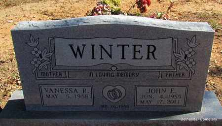 WINTER, JOHN E - White County, Arkansas | JOHN E WINTER - Arkansas Gravestone Photos
