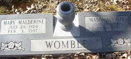 WOMBLE, MARY MALDERINE - White County, Arkansas   MARY MALDERINE WOMBLE - Arkansas Gravestone Photos