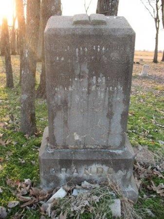 "BRANDON, MARY ANN ""POLLY"" - Woodruff County, Arkansas | MARY ANN ""POLLY"" BRANDON - Arkansas Gravestone Photos"