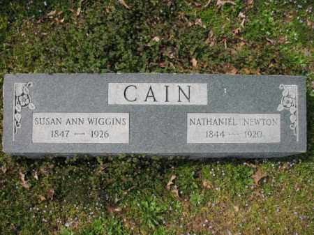 CAIN, SUSAN ANN - Woodruff County, Arkansas | SUSAN ANN CAIN - Arkansas Gravestone Photos