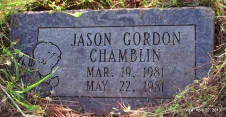 CHAMBLIN, JASON GORDON - Woodruff County, Arkansas   JASON GORDON CHAMBLIN - Arkansas Gravestone Photos