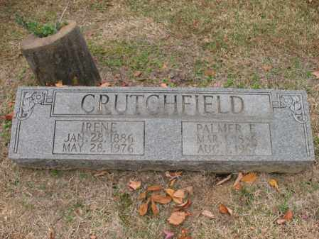 CRUTCHFIELD, PALMER E - Woodruff County, Arkansas | PALMER E CRUTCHFIELD - Arkansas Gravestone Photos