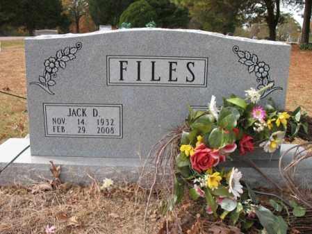 FILES, JACK D - Woodruff County, Arkansas   JACK D FILES - Arkansas Gravestone Photos