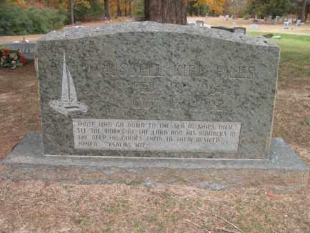 FILES, RUSSELL KIRK - Woodruff County, Arkansas   RUSSELL KIRK FILES - Arkansas Gravestone Photos