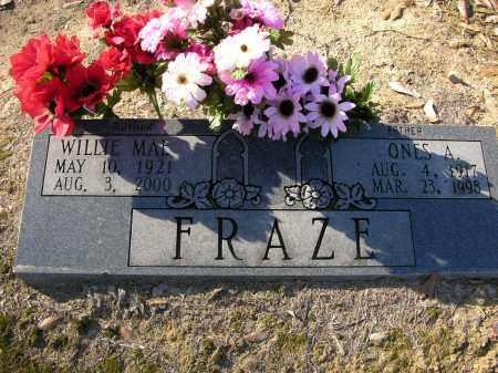 FRAZE, ONES   A. - Woodruff County, Arkansas | ONES   A. FRAZE - Arkansas Gravestone Photos
