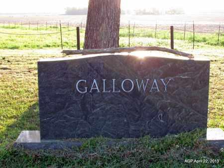 GALLOWAY FAMILY STONE,  - Woodruff County, Arkansas    GALLOWAY FAMILY STONE - Arkansas Gravestone Photos