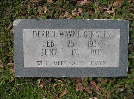 GINGLES, DERREL WAYNE - Woodruff County, Arkansas | DERREL WAYNE GINGLES - Arkansas Gravestone Photos