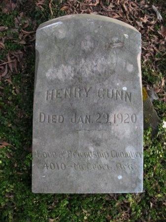 GUNN, HENRY - Woodruff County, Arkansas | HENRY GUNN - Arkansas Gravestone Photos