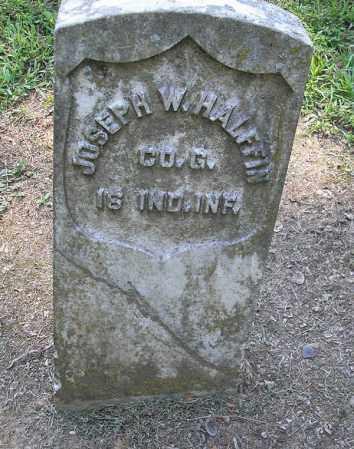 HALFFIN (VETERAN UNION), JOSEPH W - Woodruff County, Arkansas | JOSEPH W HALFFIN (VETERAN UNION) - Arkansas Gravestone Photos