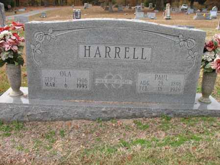 HARRELL, OLA - Woodruff County, Arkansas | OLA HARRELL - Arkansas Gravestone Photos