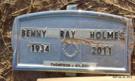 HOLMES, BENNY RAY - Woodruff County, Arkansas   BENNY RAY HOLMES - Arkansas Gravestone Photos
