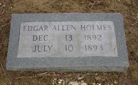 HOLMES, EDGAR ALLEN - Woodruff County, Arkansas | EDGAR ALLEN HOLMES - Arkansas Gravestone Photos