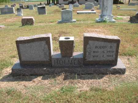 HOLMES, RODDY D - Woodruff County, Arkansas | RODDY D HOLMES - Arkansas Gravestone Photos