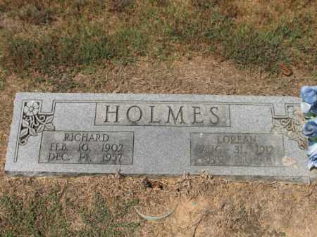 HOLMES, RICHARD - Woodruff County, Arkansas | RICHARD HOLMES - Arkansas Gravestone Photos