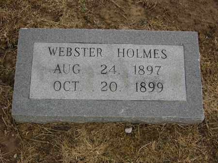 HOLMES, WEBSTER - Woodruff County, Arkansas | WEBSTER HOLMES - Arkansas Gravestone Photos