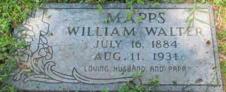 MAPPS, WILLIAM WALTER - Woodruff County, Arkansas | WILLIAM WALTER MAPPS - Arkansas Gravestone Photos