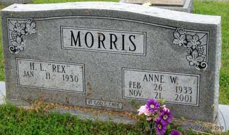 MORRIS, ANNE W - Woodruff County, Arkansas   ANNE W MORRIS - Arkansas Gravestone Photos