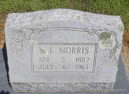 MORRIS, N L - Woodruff County, Arkansas   N L MORRIS - Arkansas Gravestone Photos