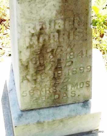 MORRIS, REUBEN (CLOSE UP) - Woodruff County, Arkansas | REUBEN (CLOSE UP) MORRIS - Arkansas Gravestone Photos
