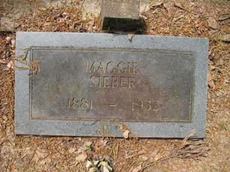 SIEBER, MAGGIE - Woodruff County, Arkansas | MAGGIE SIEBER - Arkansas Gravestone Photos
