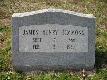 SIMMONS, JAMES HENRY - Woodruff County, Arkansas | JAMES HENRY SIMMONS - Arkansas Gravestone Photos