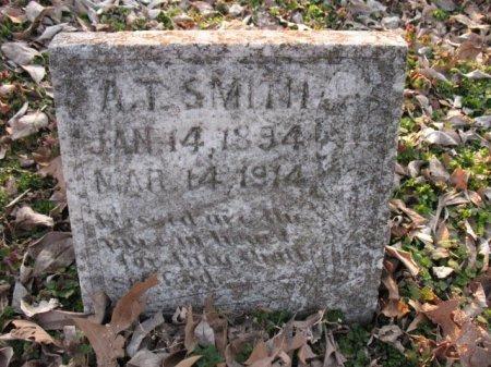 SMITH, A. T. - Woodruff County, Arkansas   A. T. SMITH - Arkansas Gravestone Photos