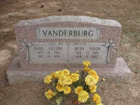 VANDERBURG, EARL EUGENE - Woodruff County, Arkansas | EARL EUGENE VANDERBURG - Arkansas Gravestone Photos