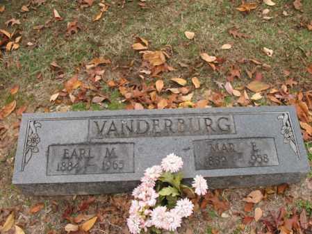 VANDERBURG, EARL MOSS - Woodruff County, Arkansas | EARL MOSS VANDERBURG - Arkansas Gravestone Photos