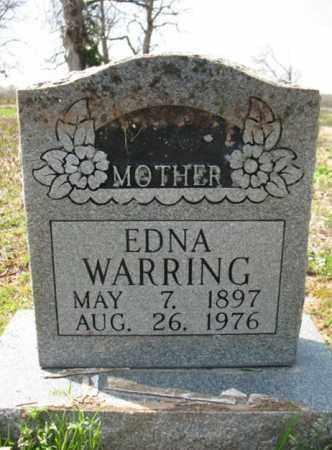 WARRING, EDNA - Woodruff County, Arkansas   EDNA WARRING - Arkansas Gravestone Photos