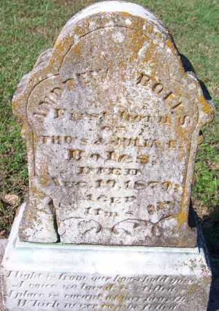 BOLES, ANDREW - Yell County, Arkansas   ANDREW BOLES - Arkansas Gravestone Photos