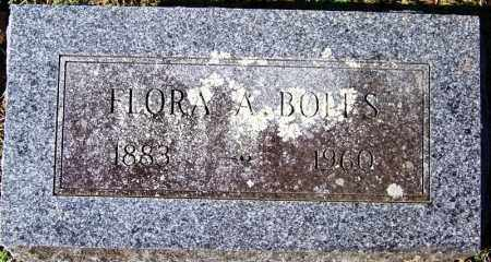 BOLES, FLORA A - Yell County, Arkansas | FLORA A BOLES - Arkansas Gravestone Photos