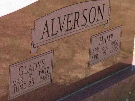 ALVERSON, GLADYS - Yell County, Arkansas | GLADYS ALVERSON - Arkansas Gravestone Photos