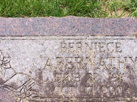 ABERNATHY, BERNICE - Yell County, Arkansas | BERNICE ABERNATHY - Arkansas Gravestone Photos