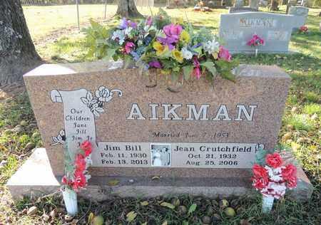 AIKMAN, JIM BILL - Yell County, Arkansas | JIM BILL AIKMAN - Arkansas Gravestone Photos