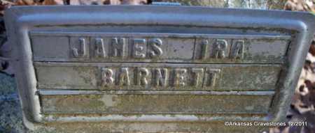 BARNETT, JAMES IRA - Yell County, Arkansas   JAMES IRA BARNETT - Arkansas Gravestone Photos