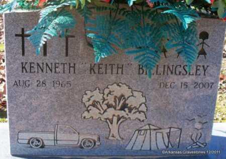 BILLINGSLEY, KENNETH KEITH - Yell County, Arkansas | KENNETH KEITH BILLINGSLEY - Arkansas Gravestone Photos