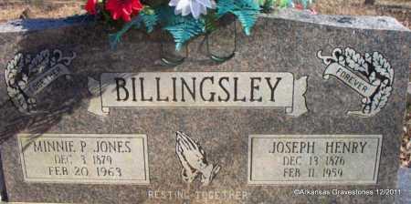 BILLINGSLEY, JOSEPH HENRY - Yell County, Arkansas | JOSEPH HENRY BILLINGSLEY - Arkansas Gravestone Photos