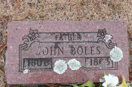 BOLES, JOHN - Yell County, Arkansas   JOHN BOLES - Arkansas Gravestone Photos