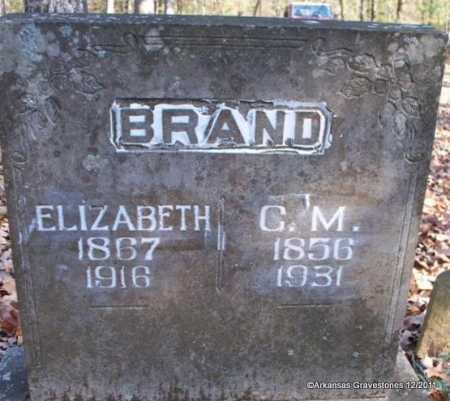BRAND, C M - Yell County, Arkansas | C M BRAND - Arkansas Gravestone Photos