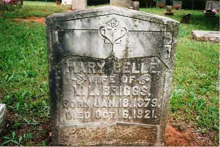 COMPTON BRIGGS, MARY BELLE - Yell County, Arkansas   MARY BELLE COMPTON BRIGGS - Arkansas Gravestone Photos