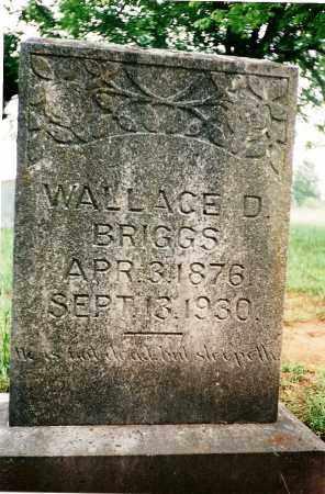 BRIGGS, WALLACE D - Yell County, Arkansas | WALLACE D BRIGGS - Arkansas Gravestone Photos