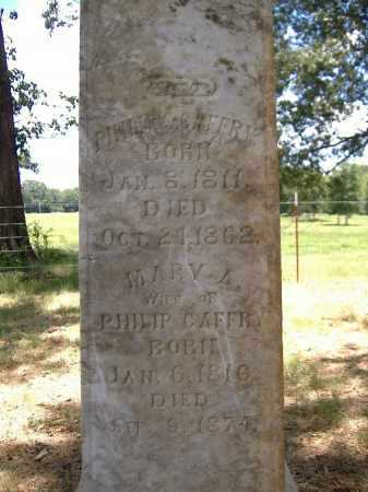 CAFFRY, MARY A - Yell County, Arkansas | MARY A CAFFRY - Arkansas Gravestone Photos